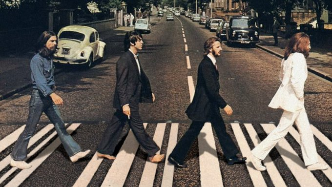 """Abbey Road"", el último disco de The Beatles"